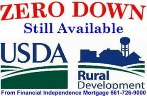 USDA Loan Still Avail
